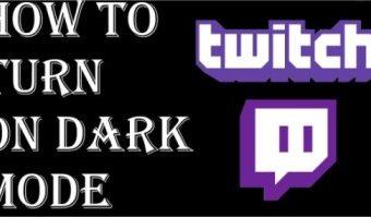 twitch dark mode,turn on night mode ,dark mode for twitch
