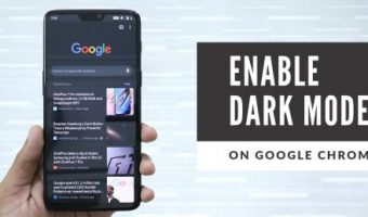 google chrome dark mode, how to enable night mode